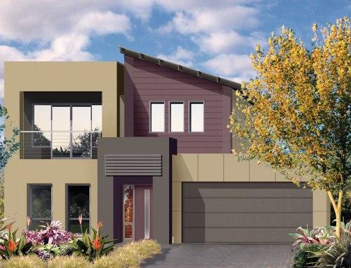 rumah minimalis lantai 2 modern - Houseandland
