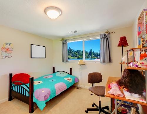 Kamar tidur anak bernuansa eklektik - Shutterstock
