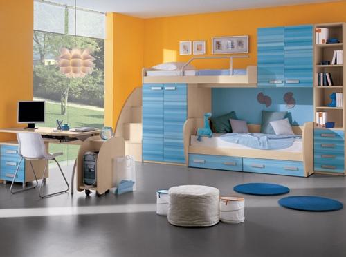 Kombinasi warna di kamar tidur anak - Sportdonbassa