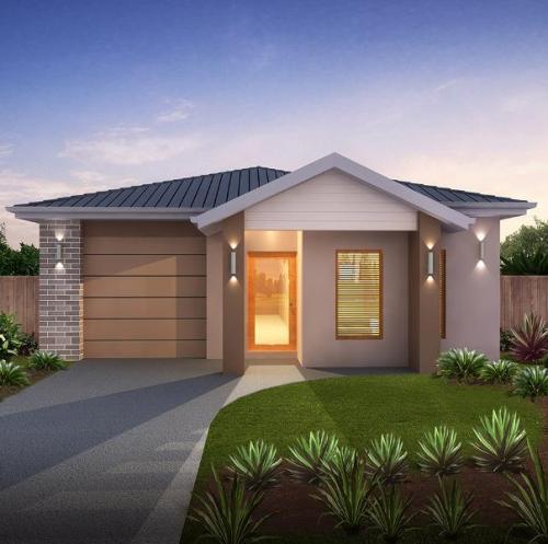 desain rumah minimalis modern type 36 - Houseandland