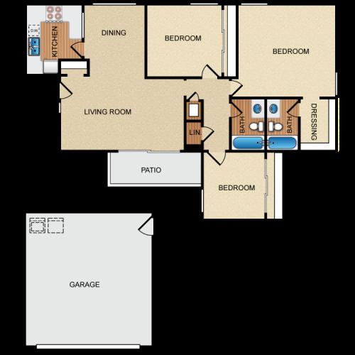 Contoh denah rumah dengan garasi basement - Parkcityapthomes
