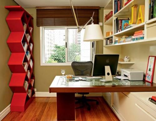Home Office di Rumah Minimalis Sederhana Type 36 - Nubolo