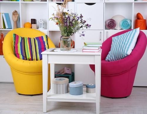 Penggunaan pola kecil di ruangan kecil - Shutterstock