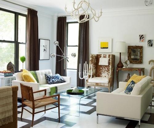 Permainan pola dan skema warna di rumah minimalis - Freshome