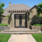 Model Pagar Rumah Minimalis dengan Gapura