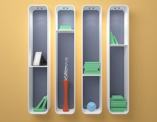 Rak gantung untuk desain rumah minimalis type 36 72 - Shutterstock