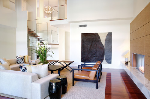 Void pada rumah mewah minimalis - Houzz