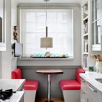 Desain Interior Dapur Minimalis dengan Breakfast Corner
