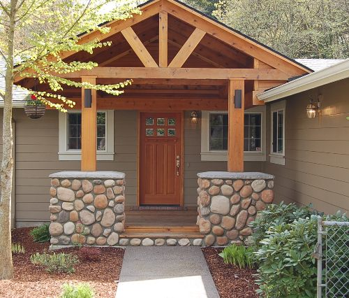 Model atap teras bergaya bungalow - Portlandhomesforcars