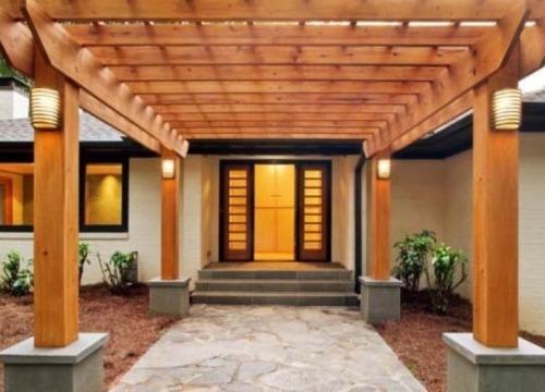 Model atap teras bergaya rustic -  Marocurl
