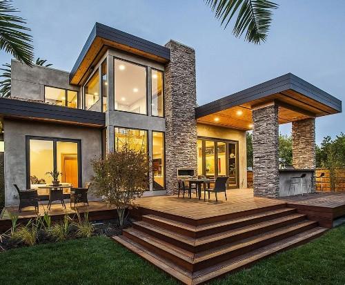 Rumah Kaca dengan Batu Alam - Fromthisperspective
