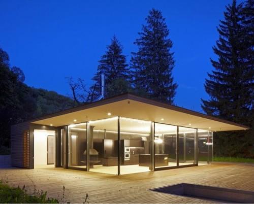 Rumah kaca semi-transparan - Ideastodecor
