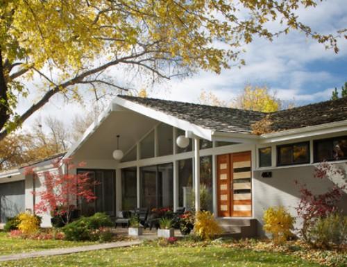 Atap rumah minimalis dengan genteng aspal - Houzz