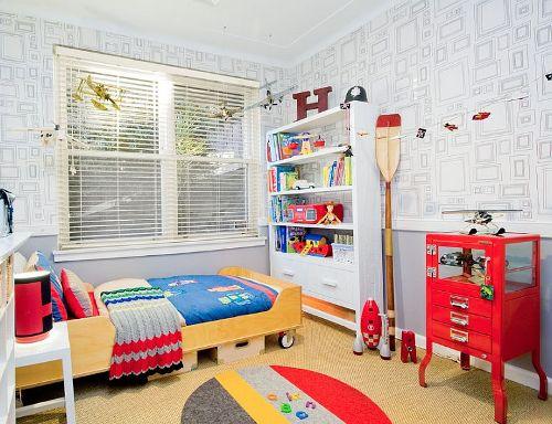 Desain Interior Kamar Anak Netral-Gender - Decoist