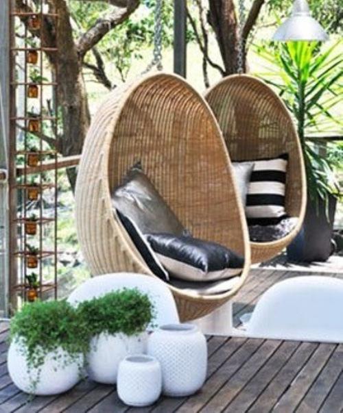 Furniture teras bergaya Cina dari rotan - Thisisthefrontier