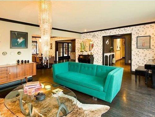 Interior rumah dengan konsep open plan - Popsugar