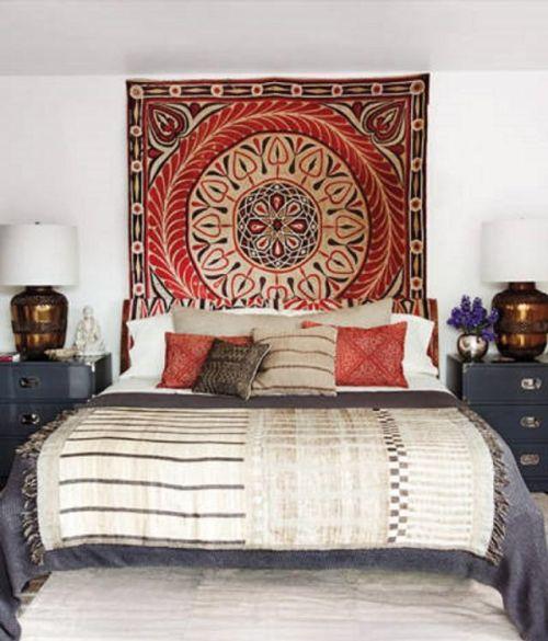 Kamar tidur eksotis Ellen Pompeo - Bedroom.About