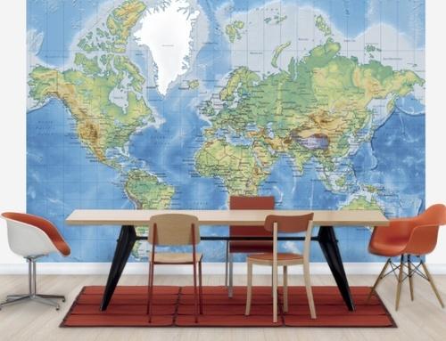Wallpaper yang Tepat untuk interior kantor - Photowall