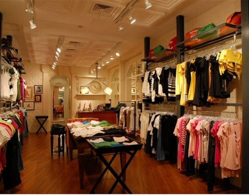 Desain interior butik - Getstyledaily