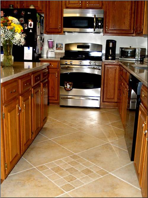Desain keramik glossy untuk dapur - Datacouch