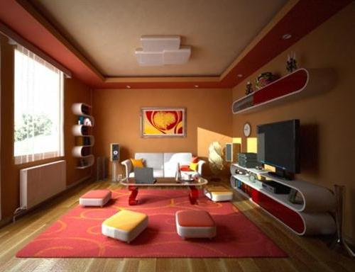 Furniture ruang tamu unik bergaya  Jepang -  Starlightdreamer
