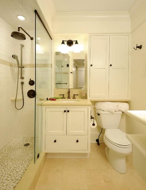 Interior kamar mandi tanpa bathtub - Slipnet