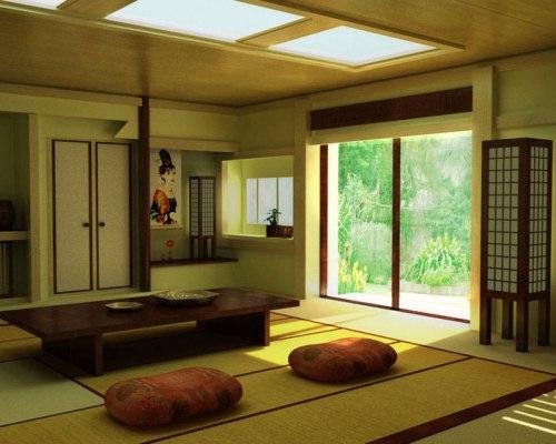 Karpet tatami di rumah jepang - impressiveinteriordesign