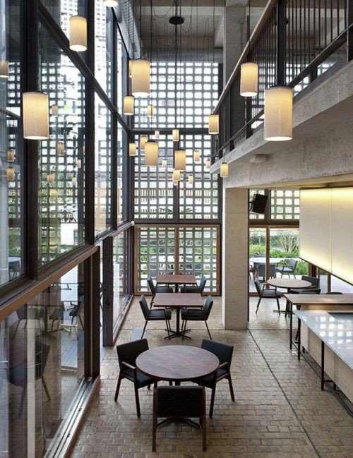 4 inspirasi cerdas untuk konsep desain interior cafe for Restaurante escuela de arquitectos madrid