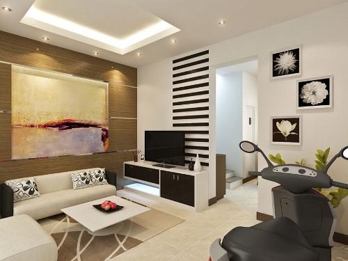 Contoh desain interior rumah - Iseecubed