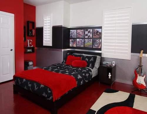 Desain interior kamar tidur utama full-color (Winnietang)