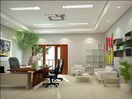Desain interior ruang kerja - Catalogshomedecor
