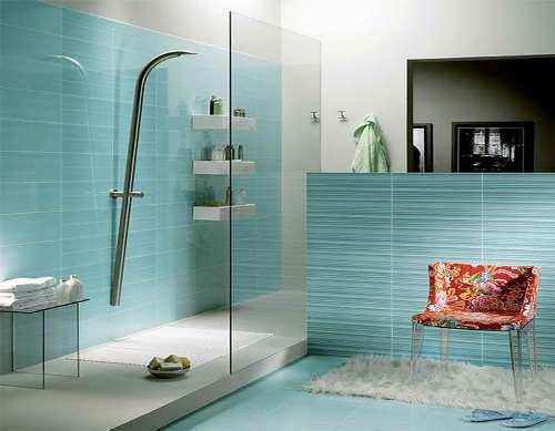 Interior kamar mandi berwarna toska muda - Fundacionbeethoven