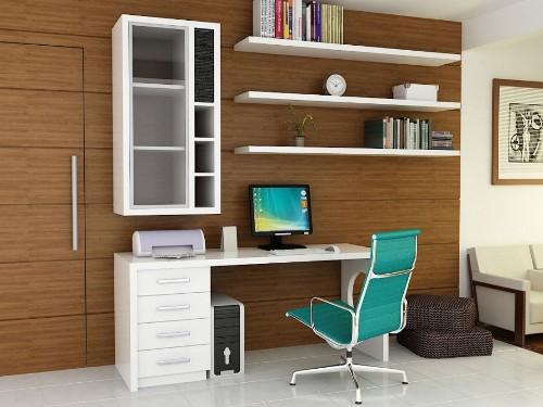 Aksesoris pada desain interior rumah type 36 (Drissimm)