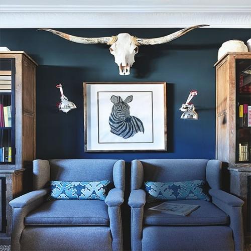 Aksesoris ruang keluarga bertema hewan (Housetohome)