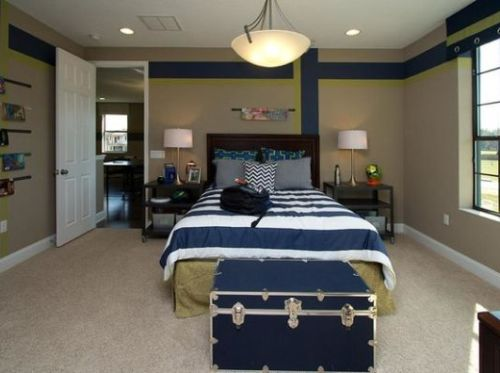 Desain interior kamar minimalis untuk remaja putra (Decoist)