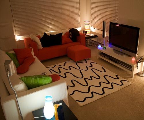 Karpet Minimalis Ukuran Kecil Di Ruang Keluarga Ghoofie
