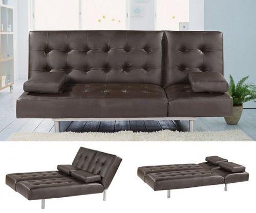 Sofa bed elegan untuk ruang tamu (Homedit)