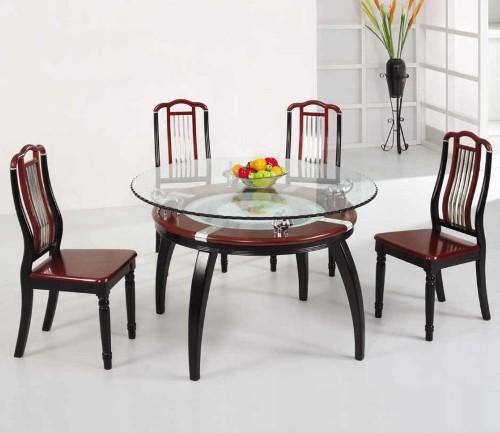 Contoh meja makan kaca (Bboldhome)