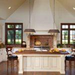 Desain Dapur Minimalis Modern dengan Batu Bata Ekspos