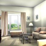 4 Jenis Gorden Untuk Desain Interior Apartemen Minimalis