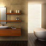Peletakan Wastafel Pada Desain Interior Kamar Mandi Kecil