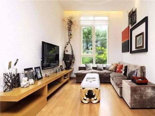Desain interior ruang keluarga model memanjang (YouTube)