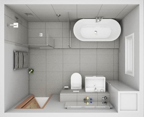 Sketsa kamar mandi minimalis (Ukbathroomguru)
