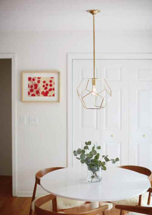 Trend pencahayaan 2016 - Lampu Geometrik (Bellacor)