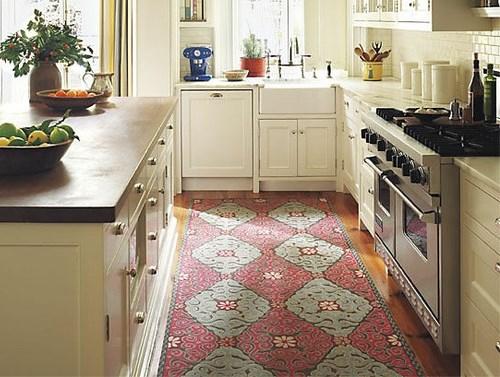 Contoh dapur dengan lantai karpet (Paltechs)