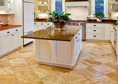 Cara memilih lantai dapur (Inthecreation)
