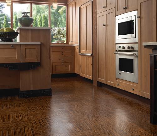 Contoh dapur dengan lantai gabus (Grezu)