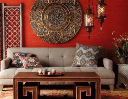 Contoh dekorasi interior yang terlalu berani (Mydecorative)