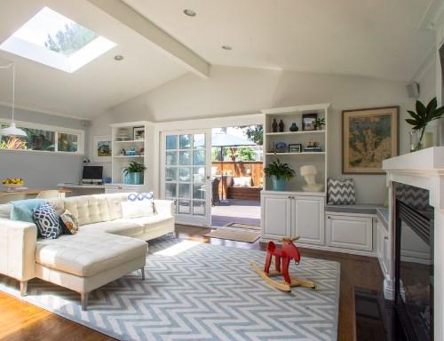 Contoh layout ruang keluarga yang ramah anak (Irastar)