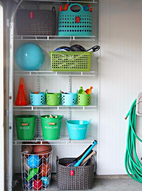 Contoh penyimpanan mainan secara terpilah (Iheartorganizing)